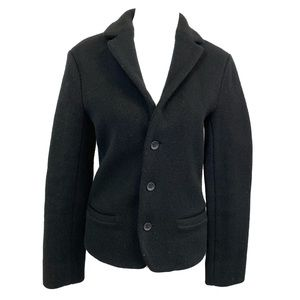 Marc by Marc Jacobs 100% Wool Black Pea Coat Small